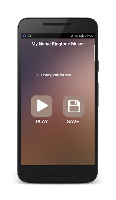 #12. My Name Ringtone Maker (Android)