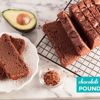 Chocolate Avocado Pound Cake.