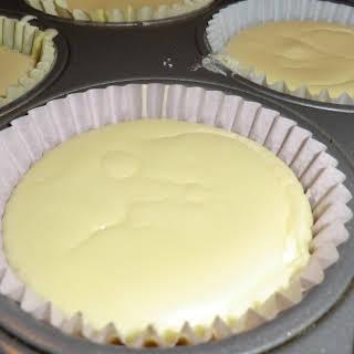 Individual Cheesecakes.
