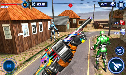FPS Robot Shooter Strike: Anti-Terrorist Shooting apkpoly screenshots 7