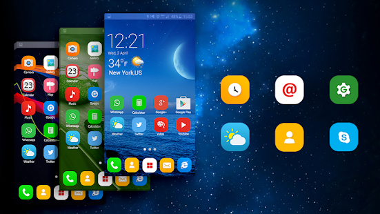 Theme Launcher for Oppo A57 APK Download - Android