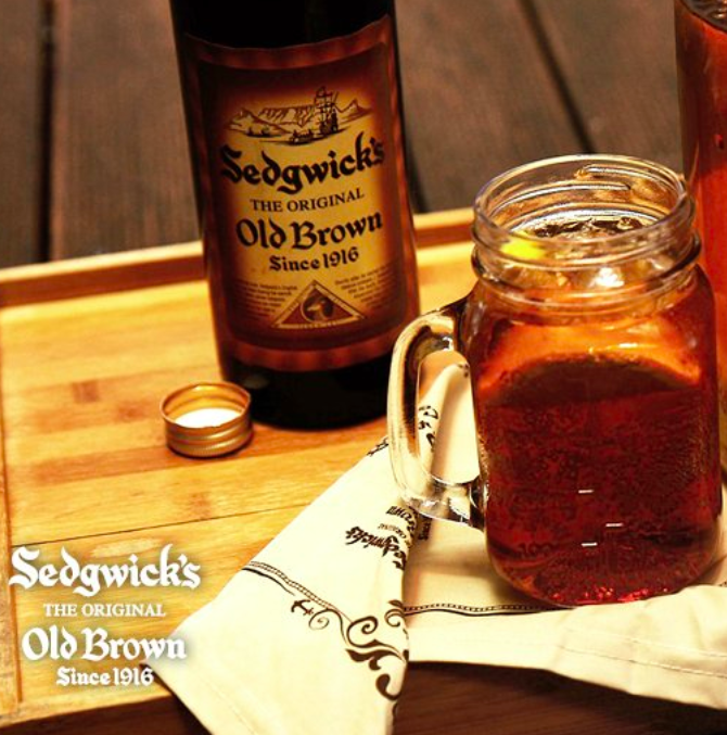 Much-loved Sedgwick's Old Brown Sherry has many uses - unfortunately, curing the deadly Covid-19 is not one of them.