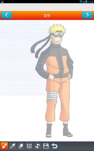 玩免費遊戲APP|下載How To Draw Cartoon and Naruto app不用錢|硬是要APP
