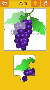 Kids Jigsaw Puzzle: Fruit - náhled