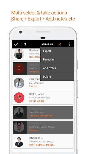 Business Card Reader: Card Scanner & Organizer Pro 1.3.2 screenshots 4