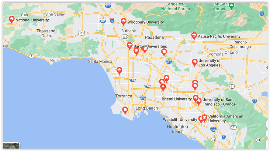 universities in Los Angeles