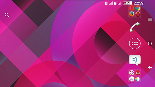 Pattern Pink Xperien Theme screenshot 6