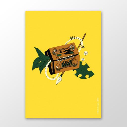 Affiche Jumanji Blandine Pannequin éditions du maïs soufflé