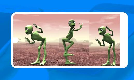 Download Green Alien Dance For PC Windows and Mac apk screenshot 1