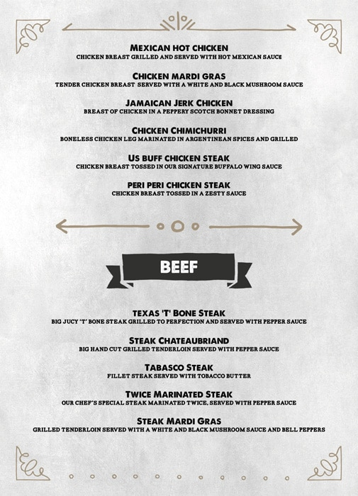 The Grill House menu 10