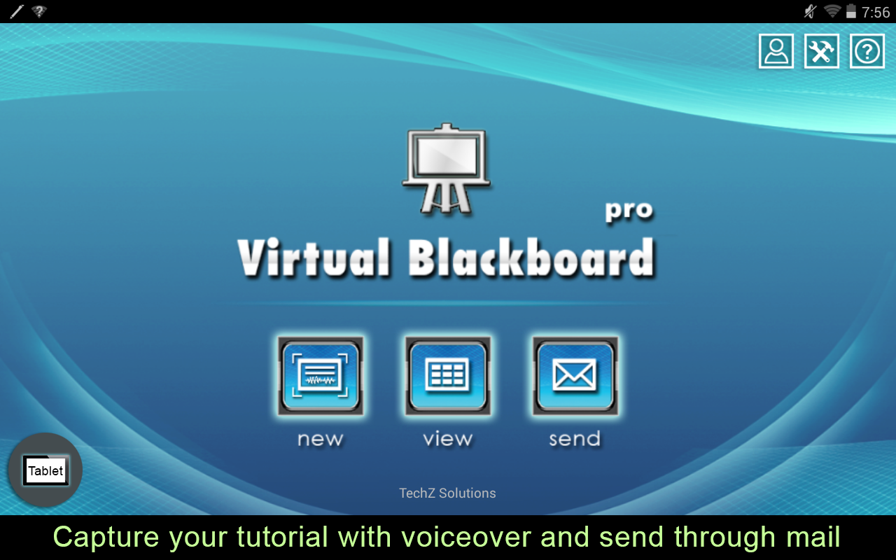 Virtual Blackboard Pro- screenshot