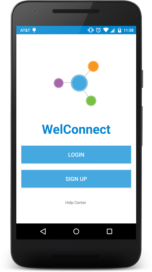 WelConnect- screenshot