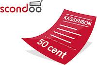 Angebot für 50 Cent für beliebigen Kassenbon! im Supermarkt