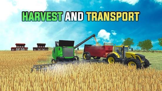 Gerçek Çiftlik Hikayesi - Traktör Çiftçiliği Simül Ekran Görüntüsü