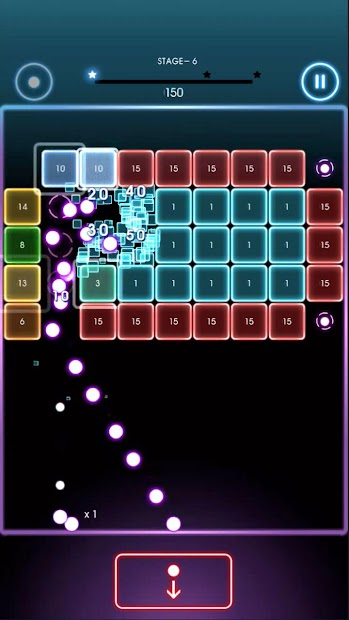 Bricks Breaker Quest Android App Screenshot
