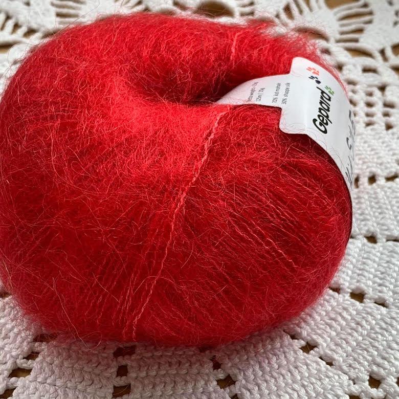 Gepard - Kid Silk 5, Röd 1118