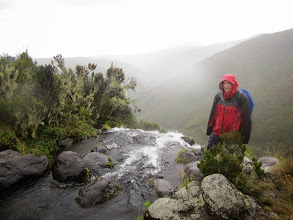 Photo: Ken at top Nithi Falls