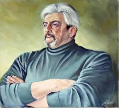 Photo: Александр Максименко,«Богатырь», холст, масло, разм. 63 х 60 см