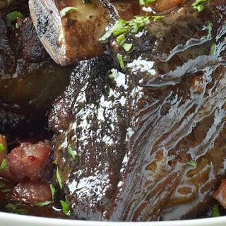 Slow-cooked Beef Short Ribs.