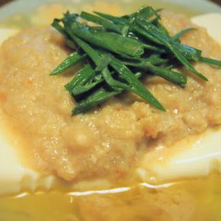 Steamed Silken Tofu 清蒸水豆腐.