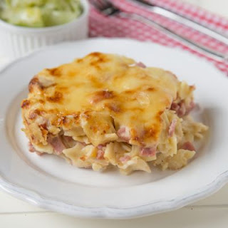 Cheesy Ham Casserole Recipe