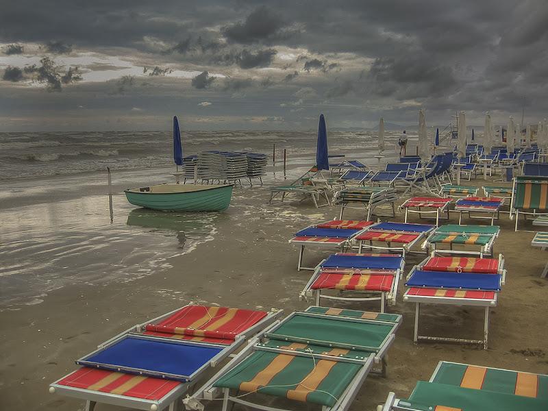 temporale sulla spiaggia di angart71