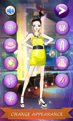 android Teenager Tv Star: DressUp Game Screenshot 8