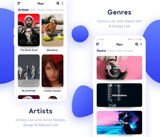 Nyx Music Player screenshot 3
