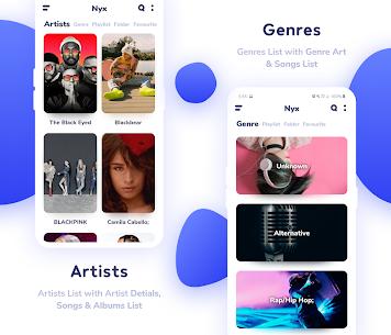 Nyx Music Player Pro MOD APK 3