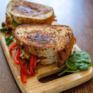 Vegan Gourmet Grilled Cheese