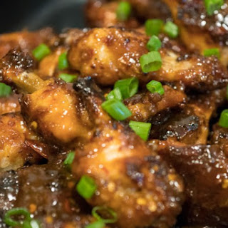 Sweet and Spicy Thai Wings.