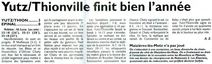 Photo: 18-12-2011 Yutz-Thionville retrouve des couleurs face à Epinal 3-0