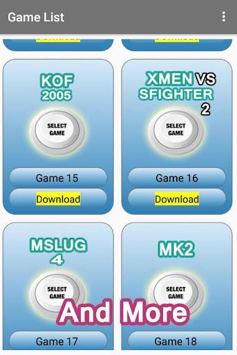 Arcade games : King of emulators 1.0 screenshots 2
