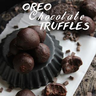Vegan Oreo Chocolate Truffles in 3 Ingredients