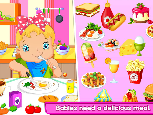 Nursery Baby Care - Taking Care of Baby Game apktram screenshots 6
