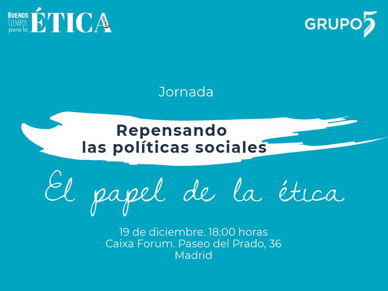 Jornadas Repensando las políticas sociales @  Caixa Forum | Madrid | Comunidad de Madrid | España