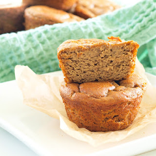 Flourless Sweet Potato Blender Muffins