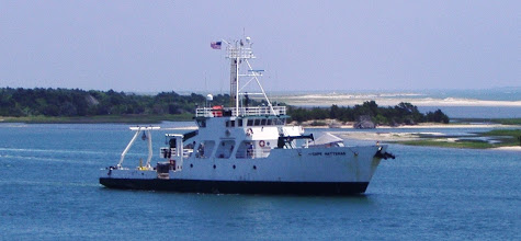 Photo: Research Vehicle Cape Hatteras leaving for the Gulf