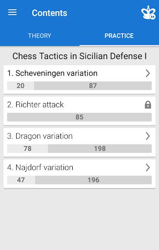 Chess Tactics in Sicilian Defense 1 1.3.5 screenshots 2