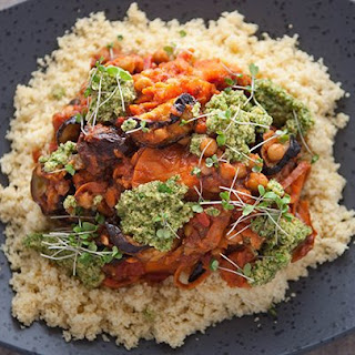 North African Chickpea and Sweet Potato Couscous