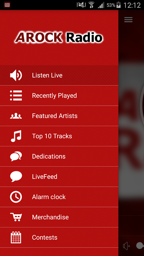 AROCK Radio- screenshot