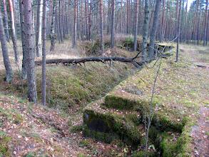 Photo: Линия оборонительных укреплений вдоль железной дороги (Красная горка)