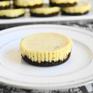 Lavender Mascarpone Mini Cheesecakes