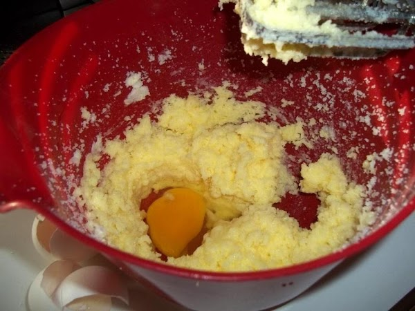 In a large bowl, cream butter and sugar until nice and fluffy. Add one...