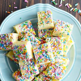 Cake Batter Fudge