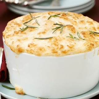 Savoury Potato and Rosemary Souffle