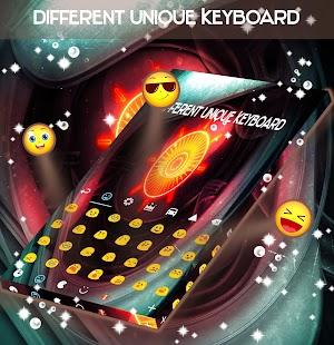 Různá jedinečná klávesnice - náhled