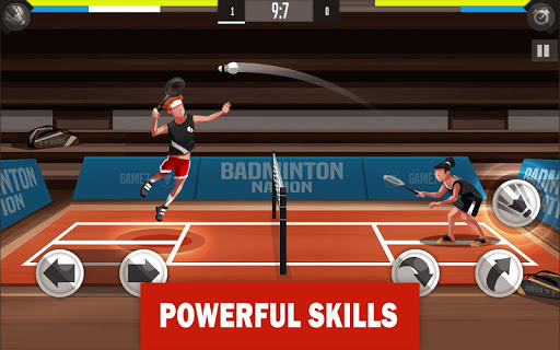 Badminton League - screenshot