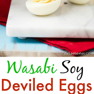 Wasabi Soy Deviled Eggs Recipe