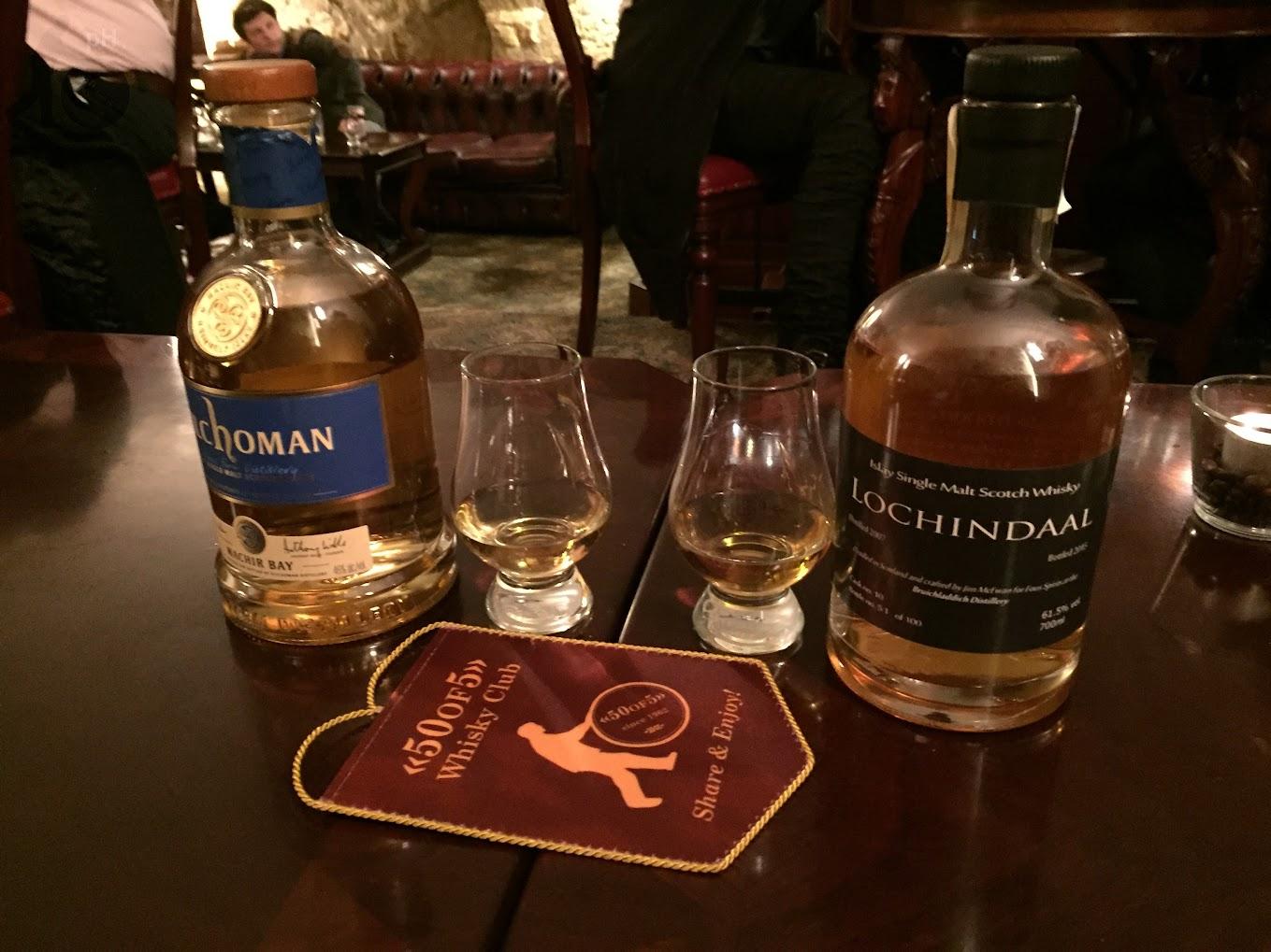 Whiskeria - Kilchoman, Lochindaal